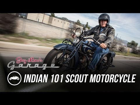 1931 Indian 101 Scout Motorcycle - Jay Leno's Garage