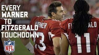 Every Kurt Warner To Larry Fitzgerald Touchdown Pass!  Happy Birthday Kurt!  NFL Highlights