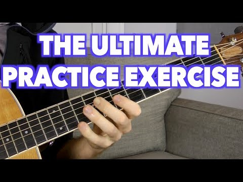 The Ultimate Guitar Practice Session w/ Backing Track