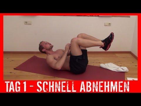 workout schnell abnehmen
