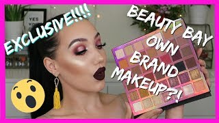 EXCLUSIVE ! BEAUTY BAY OWN BRAND MAKEUP REVIEW + DEMO! COLOUR THEORY PALETTES | MAKEMEUPMISSA