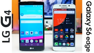 12 reasons why LG G4 is better than Samsung Galaxy S6 edge