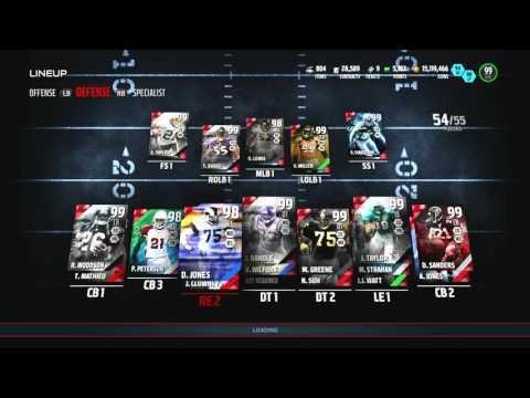 Madden 16 Ultimate Team :: We Got 99 Campus Hero Legend Clowney! Madden 16 Ultimate Team