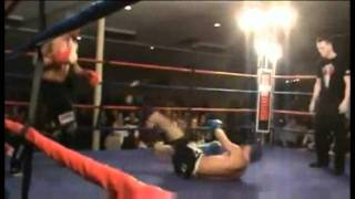 Fighter Loses By Knocking Himself Out Video