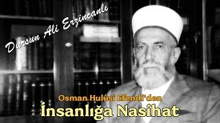 Es-Seyyid Osman Hulusi Efendi