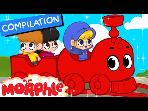 My Magic Train ( Non Stop Baby TV ) 2 hours of Kids Movies by 'My Magic Pet Morphle'
