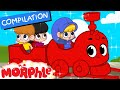 My Magic Train ( Non Stop Baby TV ) + 2 hours of Kids Movies and repeat By 'My Magic Pet Morphle'