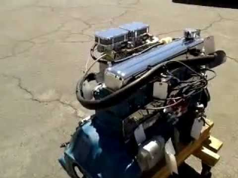 Chevy 261 High Perfomance Hot Rod Engine Youtube