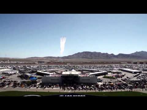 Air Force Thunderbirds Kobalt 400 Flyover