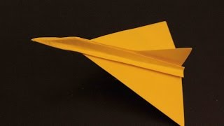 How to make a cool paper plane origami: instruction| Dagger Jet Fighter
