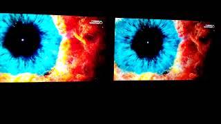 Vizio P Series Quantum TV Versus 2017 LG OLED - Dark Room Demo