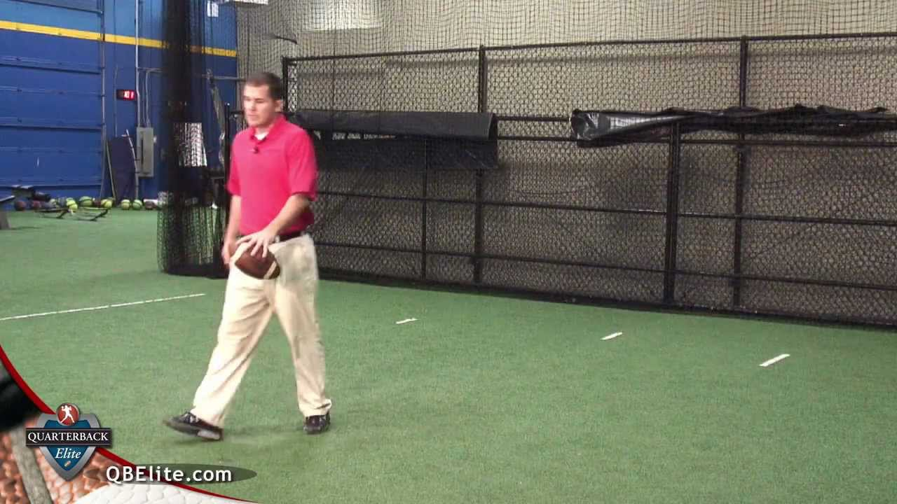 Quarterback Training - Option Pitch Drill - YouTube