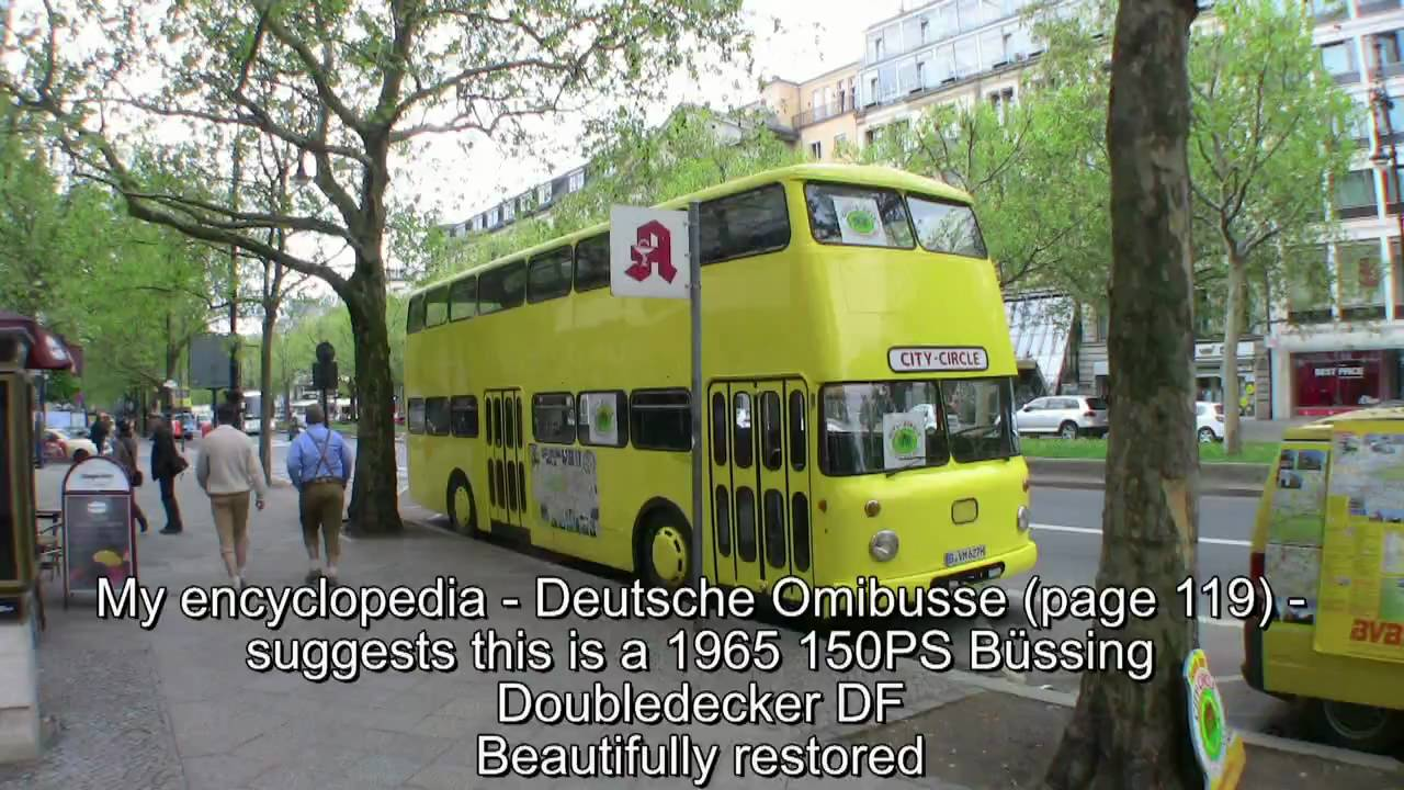 old and new buses in berlin youtube. Black Bedroom Furniture Sets. Home Design Ideas