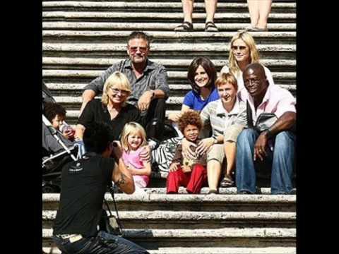Heidi Klum and Seal Family