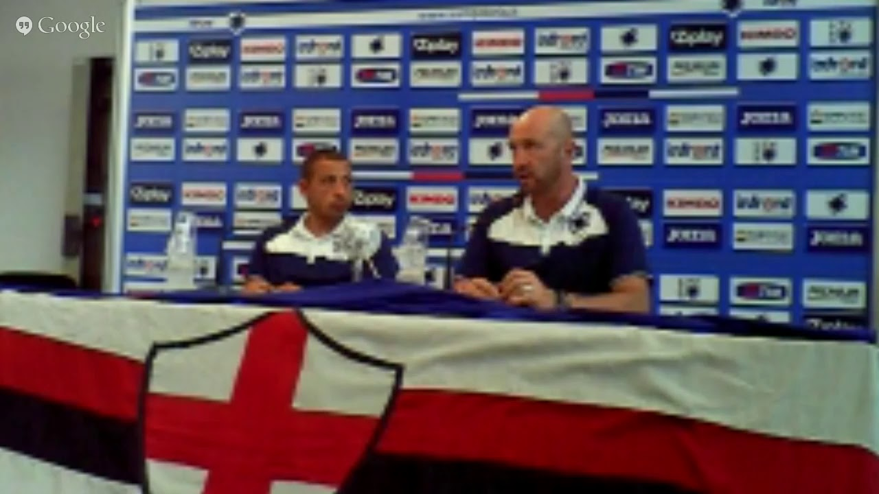 UEFA Europa League: conferenza stampa di Walter Zenga