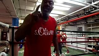 Elliot ness Mendez boxing gym
