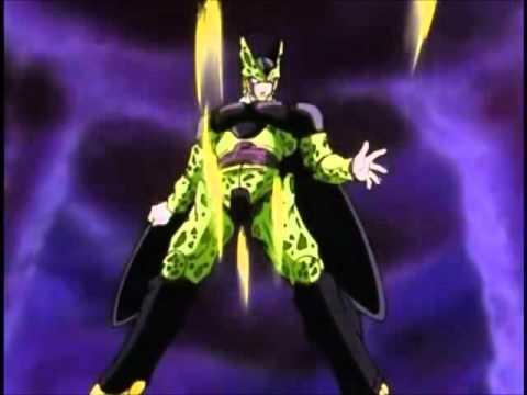 Cell absorve a Goku