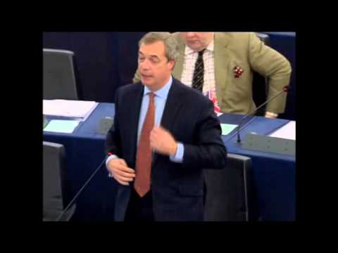 Nigel Farage; Angela Merkel Asylum Policy Given Rocket Boosters