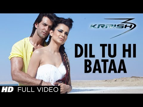 Dil Tu Hi Bataa Krrish 3 Full Video Song | Hrithik Roshan Kangana...