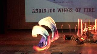 Anointed Wings of Fire - Ministry in flags to Changed by Jennifer Hudson - 16 February 2019