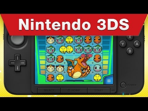 Nintendo 3DS - Pokémon Battle Trozei Announcement Trailer