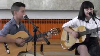 """Pavel - """"Čuvaj me"""", cover by Mateo & Lucija"""