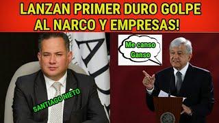 HISTÓRICO: GOBIERNO DE AMLO PRESENTA PRIMERA DENUNCIA DE LAVADO DE DINERO|TIEMBLAN EMPRESAS!