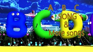 ABC Alphabet & More Songs | Kids Songs | Nursery Rhymes | Baby Songs | Children Songs