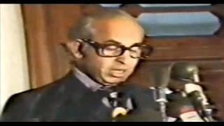 Zulfikar Ali Bhutto's speech at Dhaka regarding harmony between Pak & Bangla(28-06-1974).wmv