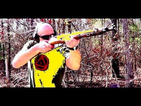 How To Refinish A Chinese Type 53 7.62x54R Mosin Nagant M44 Clone Rifle (HD)