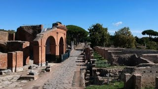 Restaurati 187 ambienti del Decumano a Ostia antica