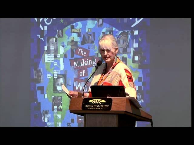 Karen Blessen - 2012 Golden West College Peace Conference