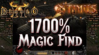 1700% Magic Find - Highest Possible Magic Find in Diablo 2