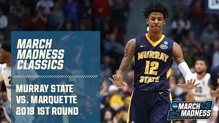 Murray State vs. Marquette (2019): Ja Morant triple-double | FULL GAME