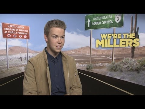 Funny Will Poulter interview for Were The Millers: He talks KISSING Jennifer Aniston Emma Roberts