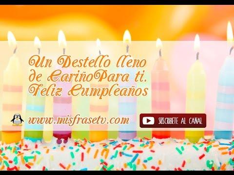 Un destello lleno de cariño para ti - Feliz cumpleaños Videos Animados