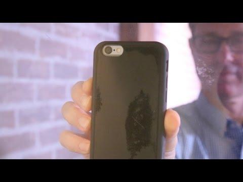 Mega Tiny Corp's Zero G Nano Suction iPhone 6 case defies gravity