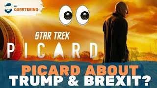 "Star Trek: Picard Gets WOKE & Angers Fans! Patrick Stewart Says It's About ""Trump & Brexit"""