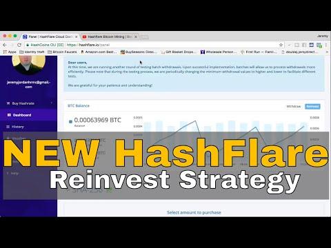 My NEW Hashflare Reinvest Strategy | Hashflare Bitcoin Mining