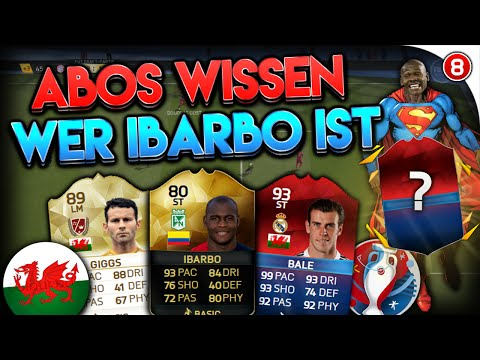FIFA 16: ABOS WISSEN WER IBARBO IST • EM 2016 • WALES • iMOTM IM PACK!!