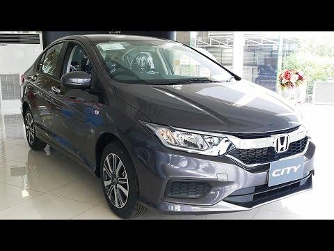 Honda City 2017 รุ่น V+ CVT (Modern Steel Metallic)