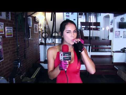 Revista Mi Gente Tv - Michelle Sarmiento