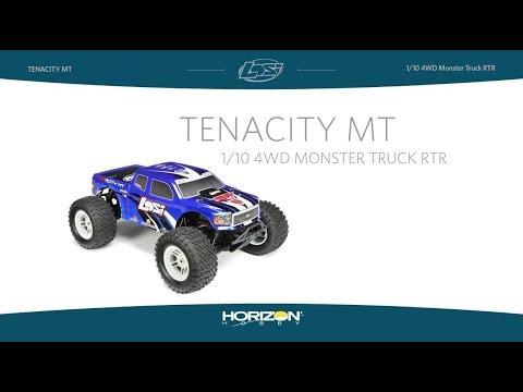 Losi: TENACITY Monster Truck, Blue, AVC: 1/10 4WD RTR: Losi (LOS03012T2)