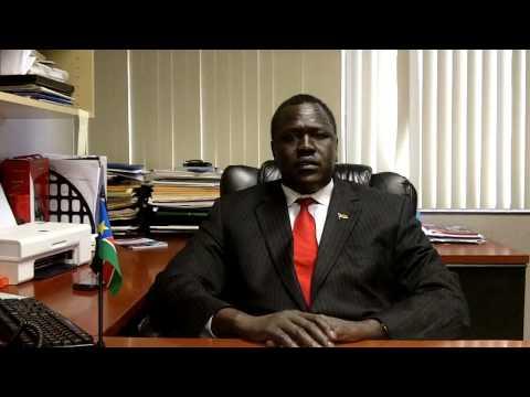 Hour 2 Hunger Strike for Darfur:  Hon. Ezekiel Lol Gatkuoth, RSS Embassy to US and UN