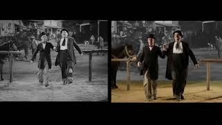 Stan & Ollie | Way Out West Dance | Shot by Shot Comparison