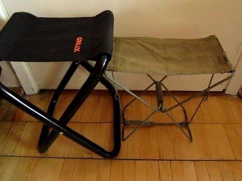 Своими руками раскладной стул из раскладушки