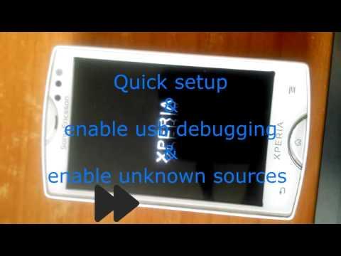 Sony Ericsson Unlock Bootloader Tutorial Custom Rom Kernel Flash