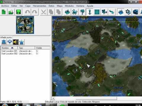 como descargar mapas para starcraft 2 editor...2012