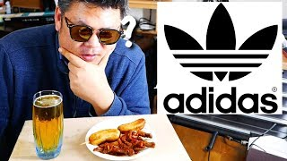 ADIDAS, a food name in the Philippines ?   Korean Tries Filipino Food