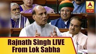 ABP News is LIVE | Rajnath Singh LIVE from Lok Sabha